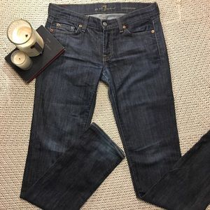 7 For All Mankind Jeans Straight Cut Size 28